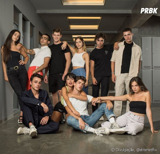 """""""Elite"""": veja a foto do elenco oficial da 4ª temporada"""