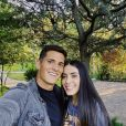 Sabina Hidalgo, do Now United, comemora três anos de namoro com jogador de futebol