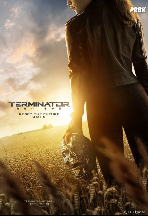 """O Exterminador do Futuro 5"" conta com Arnold Schwarzenegger e Emilia Clarke no elenco"