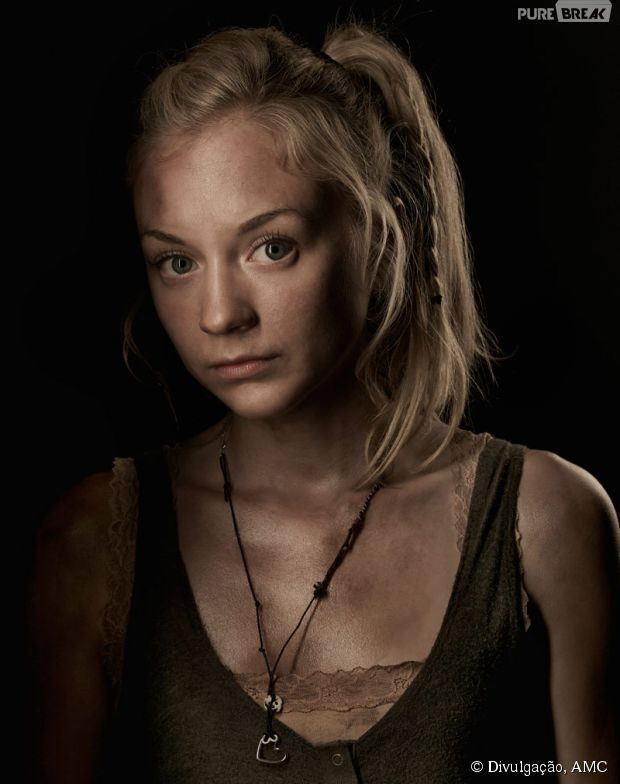 "Beth (Emily Kinney) doeu tanto nos personagens quanto nos fãs de ""The Walking Dead"""