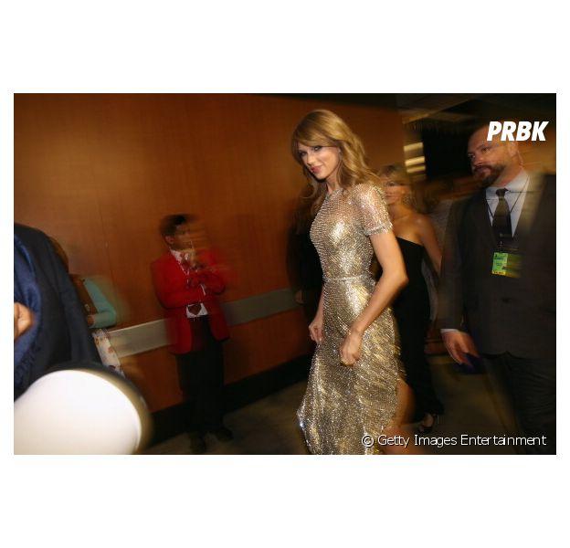 Taylor Swift nos bastidores do Grammy 2014