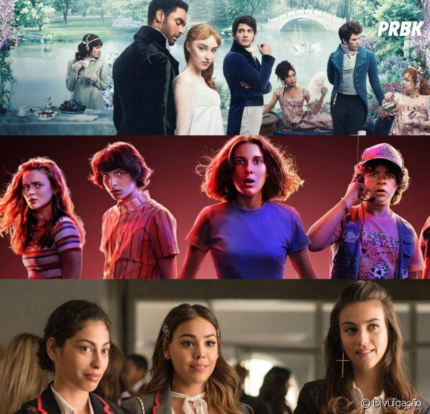 """""""Bridgerton"""", """"Stranger Things"""" e mais: vote na melhor série original da Netflix nestes duelos"""