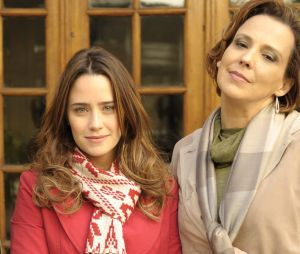 """""""A Vida da Gente"""":Ana (Fernanda Vasconcellos) vive sob pressão de sua mãe, Eva (Ana Beatriz Nogueira)"""