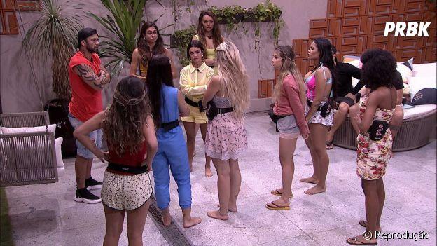 """BBB20"": mulheres descobrem plano de Hadson, Felipe e Lucas"