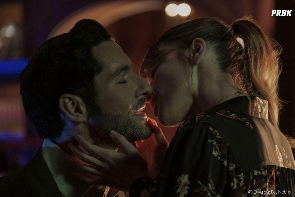 """Lucifer"": será que Lucifer (Tom Ellis) conseguirá dizer que ama Chloe (Lauren German) nos próximos episódios?"