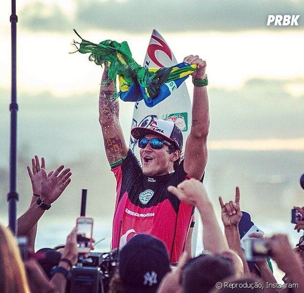 Gabriel Medina está próximo de se tornar o primeiro brasileiro campeão mundial de surf