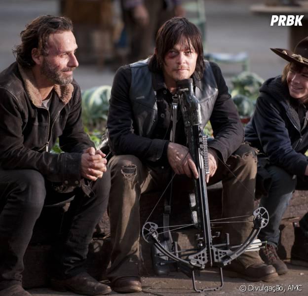 """""""The Walking Dead"""" vai ter muitos bafões em sua nova parte da temporada!"""