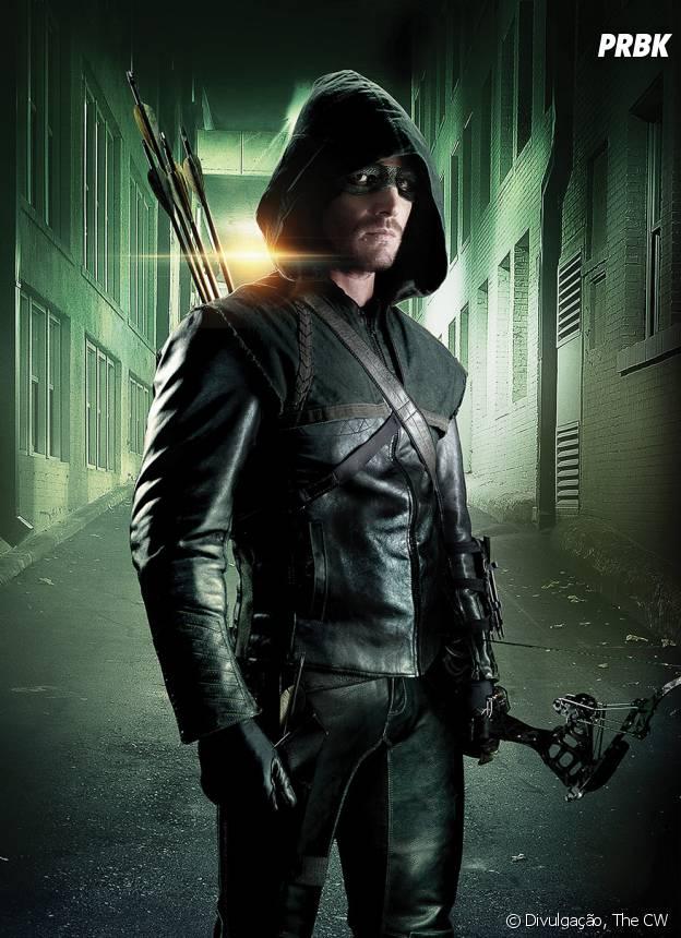 """Será que Oliver (Stephen Amell) sobrevive em """"Arrow""""?"""