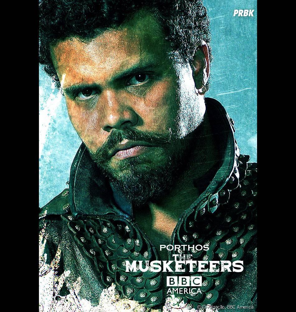 """Em """"The Musketeers"""", Porthos (Howard Charles) teve a infância mais difícil de todas"""