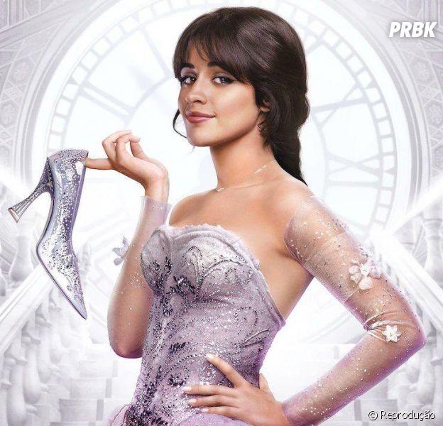 """""""Cinderella"""" divulga primeiro pôster oficial do filme"""