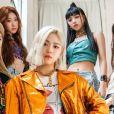 ITZY fez seu debut em 2019 e tem 5 integrantes:   Yeji, Lia, Ryujin, Chaeryeong e Yuna
